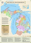 Michigan Watersheds Map