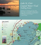 Lake St. Clair Coastal Water Trail Map